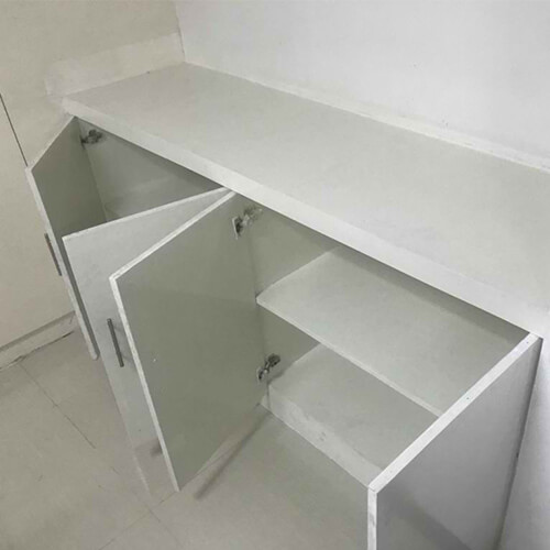 Cabinet and Lavatory